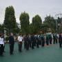 Pimpin Apel Pagi, Wakil Ketua PTA. Palu Tekankan Kekompakan untuk Raih Predikat WBBM || (09/03/2021)